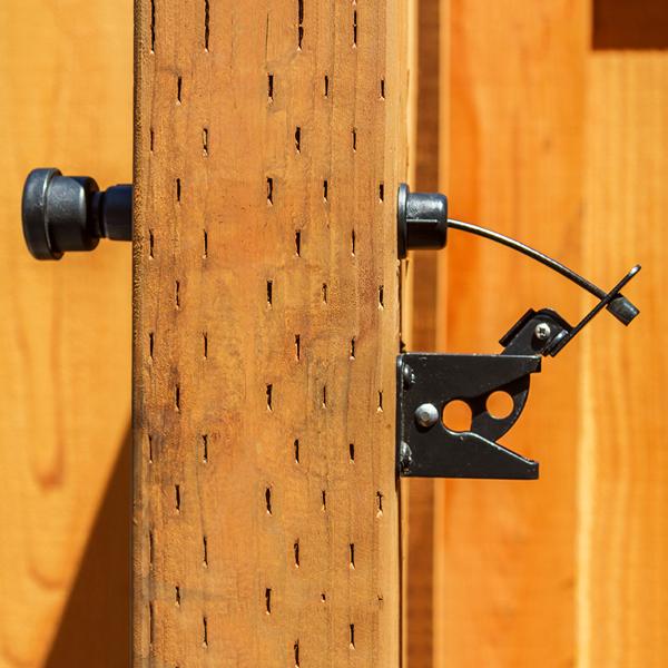 GH Gate Products EZGT001 Gate Latch Pull In Black