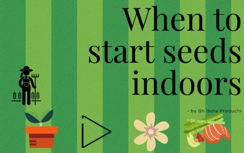 When to Start Seeds Indoors - GH Gate Products Gate Latch Pull